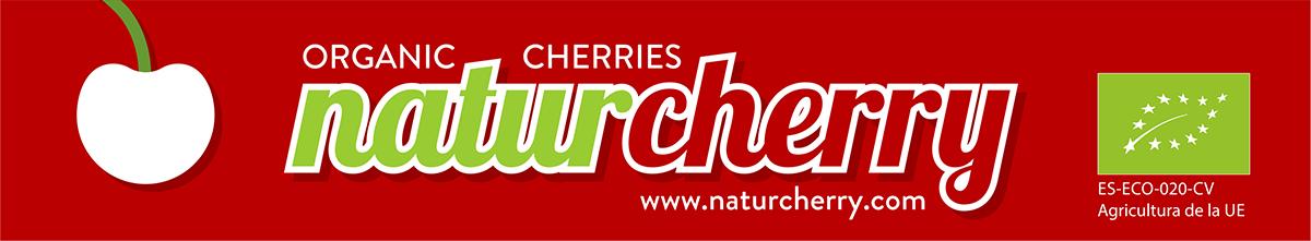 Naturcherry. Etiqueta roja